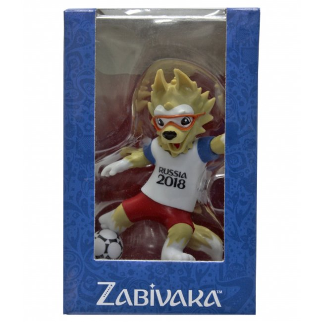 Фигурка ЧМ-2018 Zabivaka Kicking 9см в подар. кор Т11670